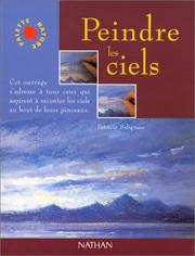 Cover of: Peindre les ciels