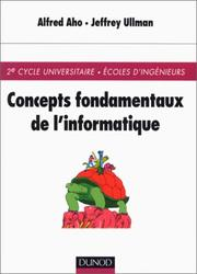 Cover of: Concepts fondamentaux de l'informatique