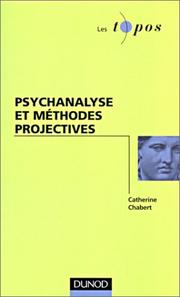 Cover of: Psychanalise et méthodes projectives