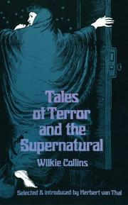 Cover of: Tales of terror and the supernatural | Wilkie Collins