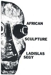 Cover of: African Sculpture (African Art Art of Illustration)