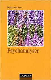 Cover of: Psychanalyser, tome 1