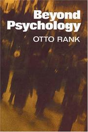 Cover of: Beyond psychology