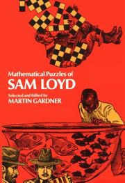 Cover of: Mathematical Puzzles of Sam Loyd