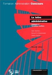 Cover of: Lettre Administrative by