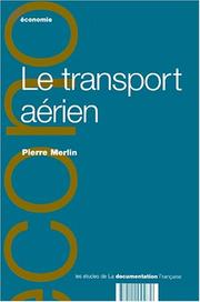 Cover of: Transport aerien