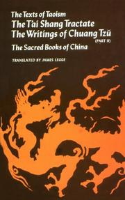 Cover of: Texts of Taoism (Volume 2)