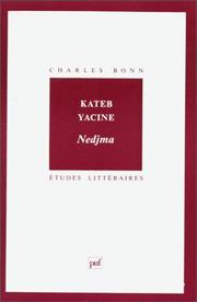 Cover of: Kateb Yacine