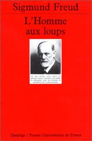 Cover of: L'Homme aux loups