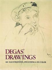 Cover of: Degas' drawings