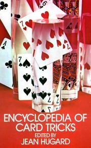 Cover of: Encyclopedia of card tricks