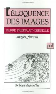 Cover of: L'éloquence des images