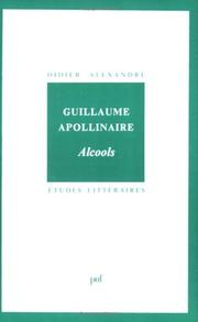 Cover of: Apollinaire