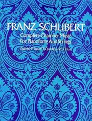 Cover of: Complete chamber music for pianoforte and strings