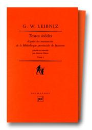 Cover of: Textes inédits