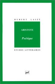 Cover of: Aristote, Poétique
