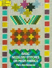 Cover of: Basic needlery stitches on mesh fabrics