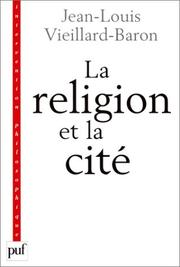 Cover of: La Religion et la Cité