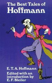 Cover of: The best tales of Hoffmann