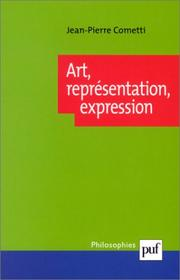 Cover of: Art, représentation, expression