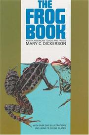 The frog book by Dickerson, Mary Cynthia