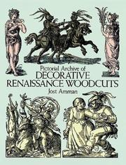 Cover of: Pictorial archive of decorative Renaissance woodcuts
