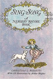 Cover of: Sing-song