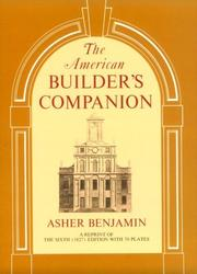 The American builder's companion by Asher Benjamin