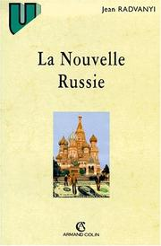 Cover of: La nouvelle Russie