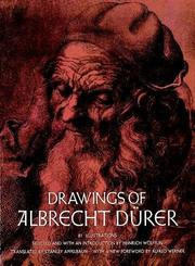 Cover of: Drawings of Albrecht Dürer