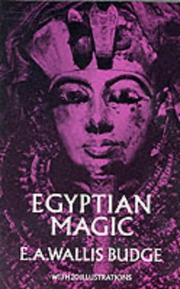 Cover of: Egyptian magic