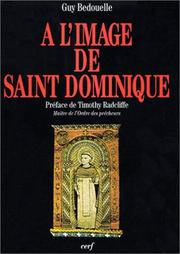 Cover of: A l'image de saint Dominique