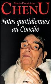 Cover of: Notes quotidiennes au Concile: Note quotidiane al Concilio, 1962-1963