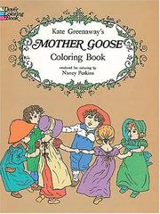Cover of: Kate Greenaway's Mother Goose Coloring Book