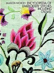 Cover of: Encyclopedia of Embroidery Stitches, Including Crewel