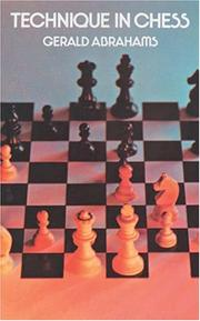 Cover of: Technique in chess