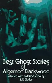 Cover of: Best ghost stories of Algernon Blackwood