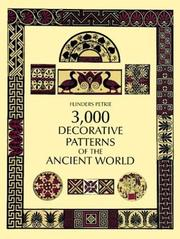 Cover of: Decorative patterns of the ancient world