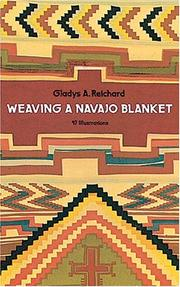 Cover of: Weaving a Navajo blanket