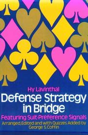 Cover of: Defense strategy in bridge