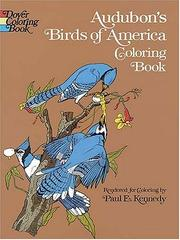 Cover of: Audubon's Birds of America Coloring Book