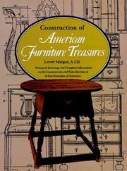Cover of: Construction of American furniture treasures