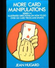 Cover of: More card manipulations, series 1-4