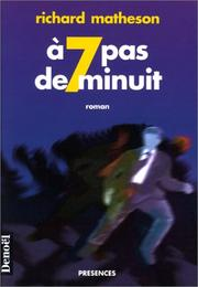 Cover of: A sept pas de minuit