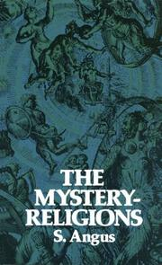 Cover of: The mystery-religions
