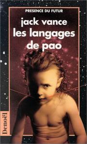 Cover of: Les langages de Pao