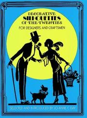 Cover of: Decorative silhouettes of the twenties for designers & craftsmen