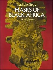 Cover of: Masks of Black Africa