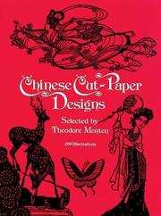 Cover of: Chinese cut-paper designs |