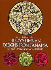 Cover of: Pre-Columbian designs from Panama